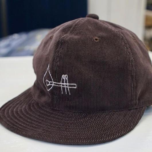 Match CAP   Brown   / コーデュロイキャップ・ ブラウン