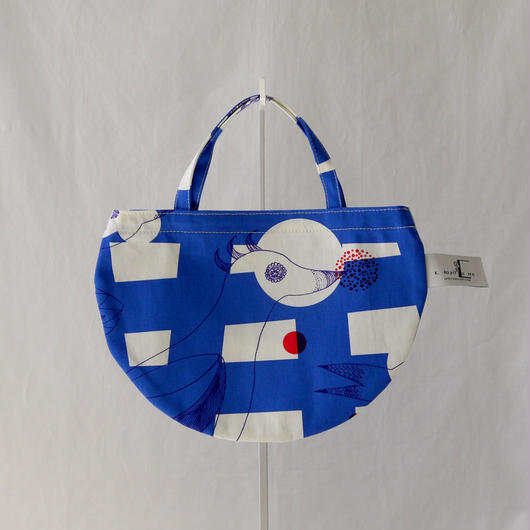 LC MINI R TOTE            -MAGIC BIRD- (BLUE)