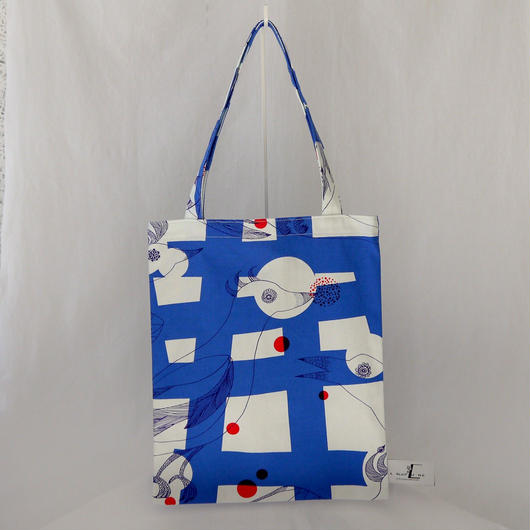 LC TOTE            -MAGIC BIRD- (BLUE)