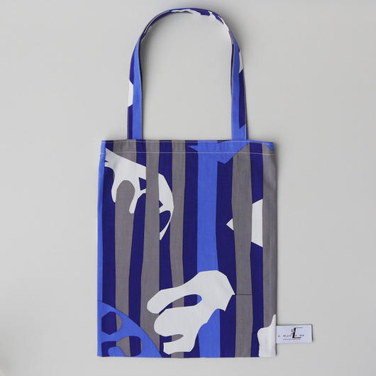 LC TOTE  -DEEP BREATH- (BLUE)