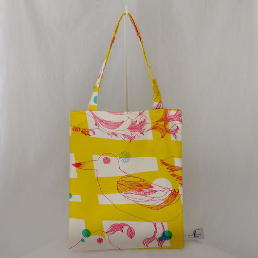 LC TOTE            -MAGIC BIRD- (YELLOW)