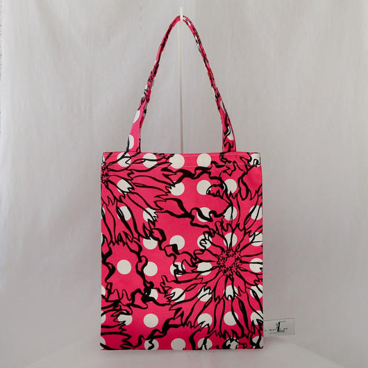 LC TOTE  -BUBBLE FLOWER-  (PINK)