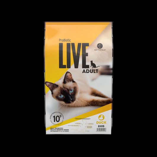 ドイツ発 スーパープレミアム キャットフード プロバイオティック ライブ (Probiotic Live) 成猫 2Kg