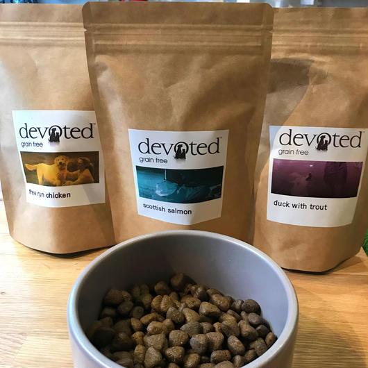 デボーテッド (DEVOTED) Premium ドッグフード 人気の3種セット(200g 入り お試しのミニーパック)全犬種