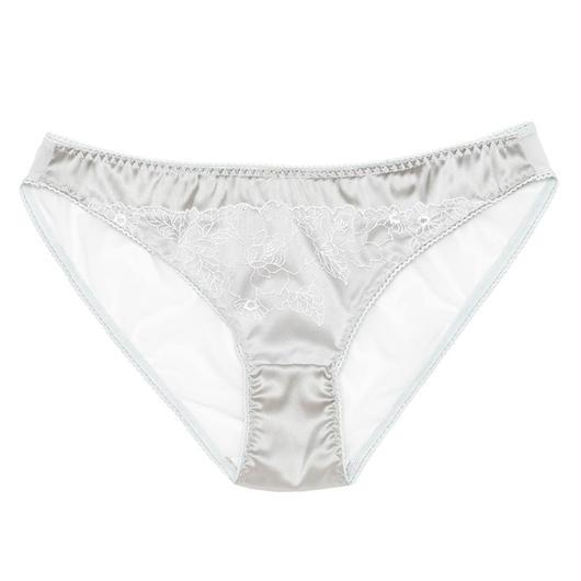 Sweet Pea Gray Silk Bikini