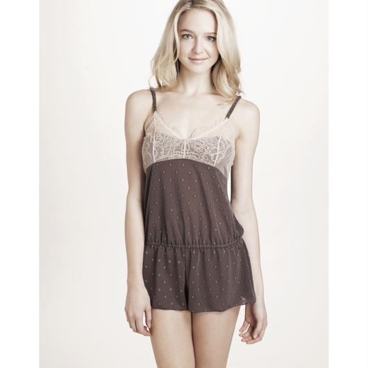 Bohemian Dream Romper Gray