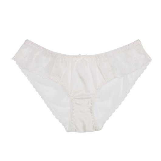 White Love Silk Bikini