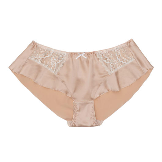 Pearly Silk Flare Panty