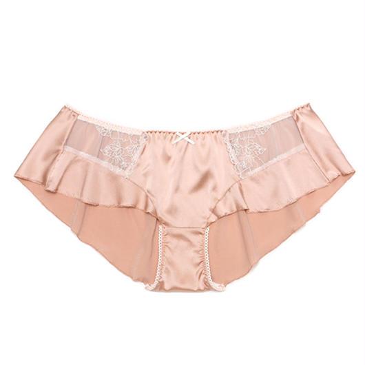 SweetPea Rose Pink Silk Flare Panty