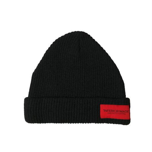 -STATEMENT- KNIT CAP (BLK)