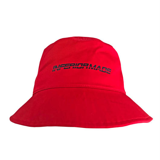 -ANOMALY- BUCKET HAT (RED)