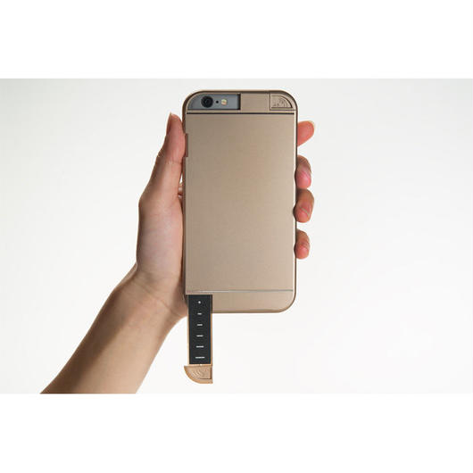 LINKASE PRO for iPhone 6 ゴールド・4G/3Gシグナル拡張iPhoneケース