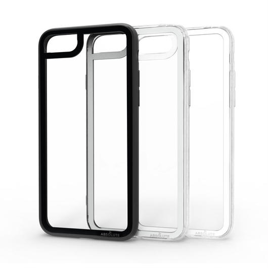 ABSOLUTE・LINKASE CLEAR / Gorilla Glass for iPhone 8+/7+