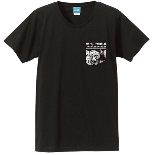 Aloha Pocket T-shirt (Black)