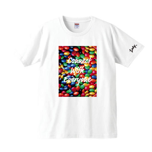 LINKY Marble T-shirt(White)