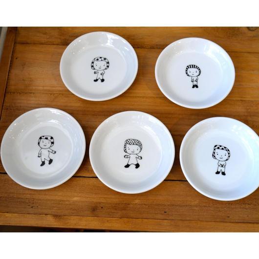 【tomopecco】〈ふろしき〉  小皿