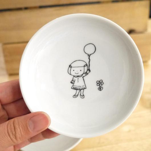【tomopecco】〈風船〉    小皿