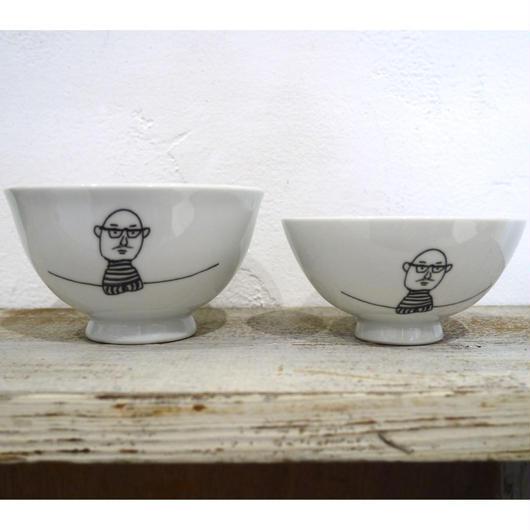 【tomopecco】〈おやじ〉   茶碗・小