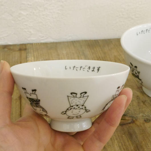 【tomopecco】〈逆立ち〉   茶碗・小
