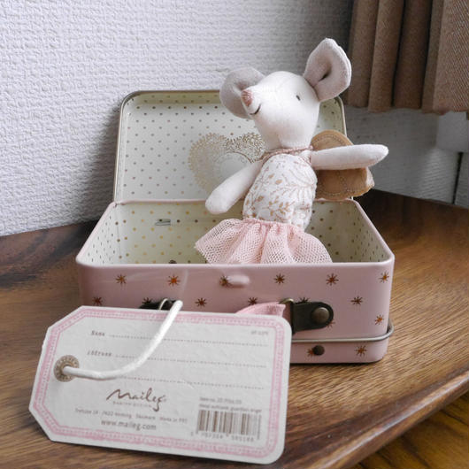 【 Maileg 】ねずみの女の子とスーツケース