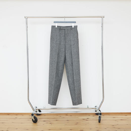 Herringbone Wide Trousers