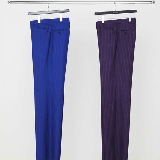 Stripe Straight Trousers