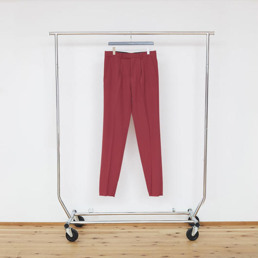 No.21 - Red 1 Tuck Tight Trousers