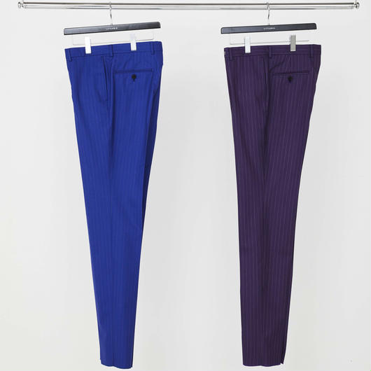 Stripe Slim Trousers