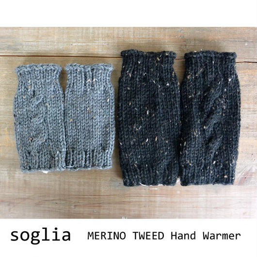 soglia MERINO TWEED Hand Warmer Unisex