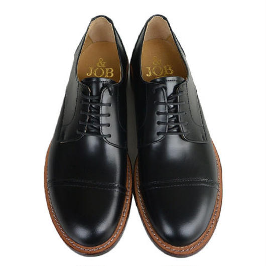 &JOB by UNITED LOT straight tip shoes(JO03) BLACK