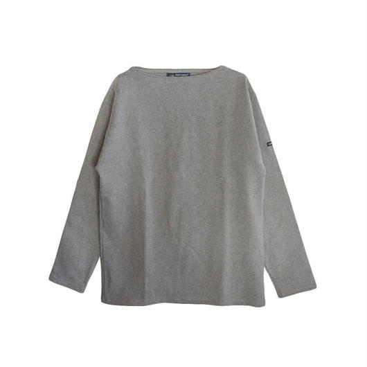 SAINT JAMES (セントジェームス)OUESSANT SOLID(無地)正規取扱品 GRIS(杢グレー)