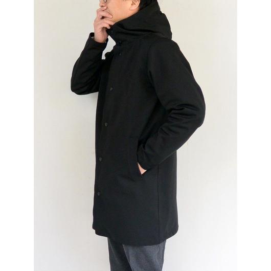 Jackman ジャックマン JM8603 Jersey Coat ジャージーコート Black