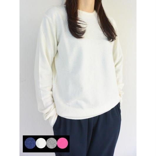 Cachmere Silk Company(カシミア・シルク・カンパニー)LADIESクルーネックセーター
