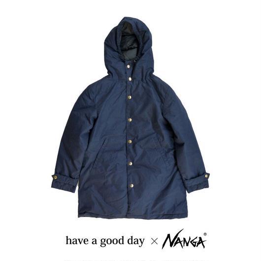 have a good day(ハブアグッドデイ)NANGA ナンガダウン フードコート NAVY