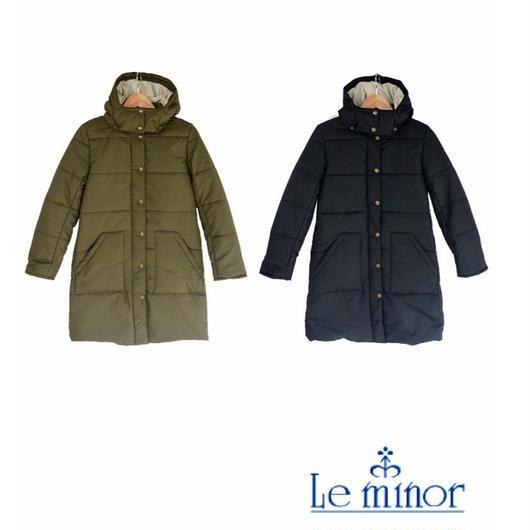 Le minor (ルミノア) 中綿入り フードコート EL35752