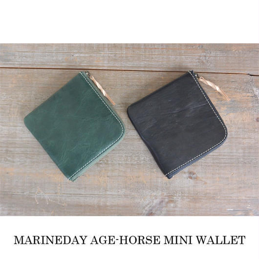 MARINEDAY AGE-HORSE ミニ財布