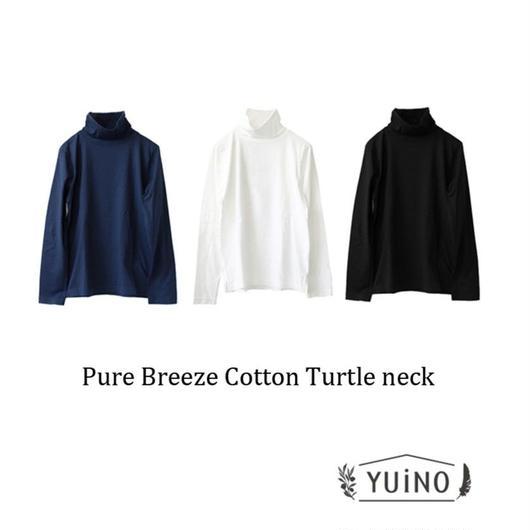 yuino IITO ピュアブリーズコットン タートルネックロングスリーブTシャツ UNISEX