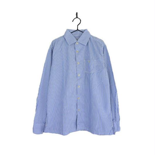 ordinary fits オーディナリーフィッツ ストライプワークシャツ OR-SH-046