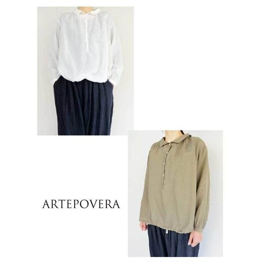 ARTE POVERA アルテポーヴェラ リネンリヨセルバルーンシャツ
