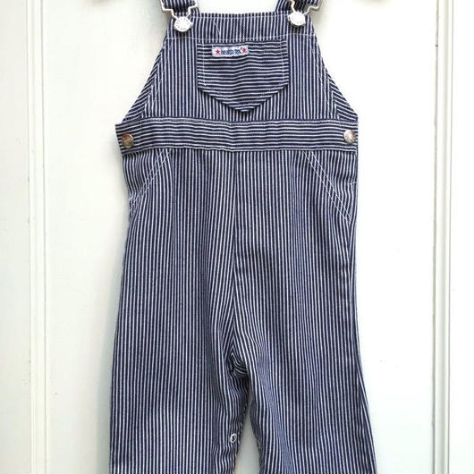 "【USED】""Health-tex"" Stripe Overall (Made in U.S.A.)"