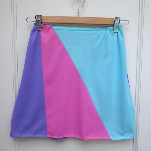【USED】Pastel Nylon Skirt