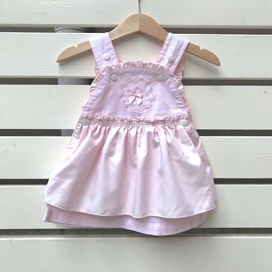 【USED】Pink design jumper skirt