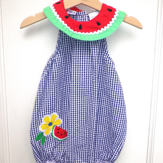 【USED】Watermelon Rompers