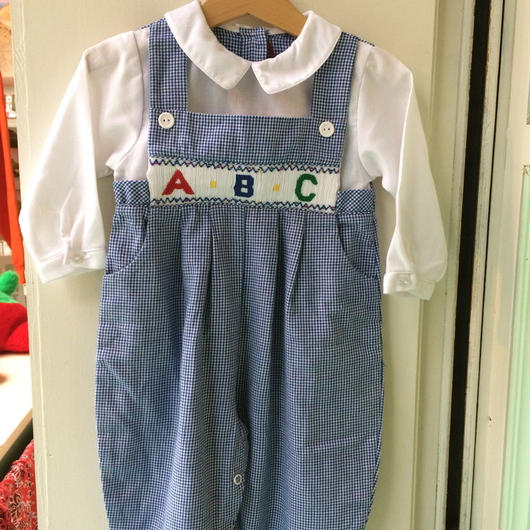 "【USED】""ABC""Rompers"