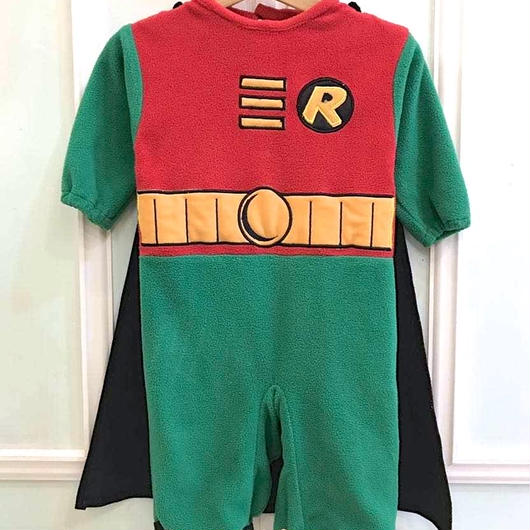 """【USED】""""R"""" hero Romper"""