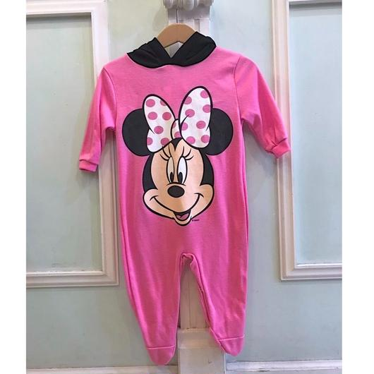 372.【USED】Minnie Mouse ear Rompers