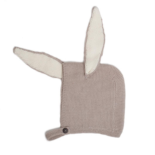 □【ouef】motif hat/ bunny