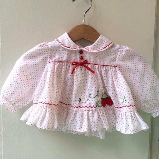 【USED】Strawberry motif dress