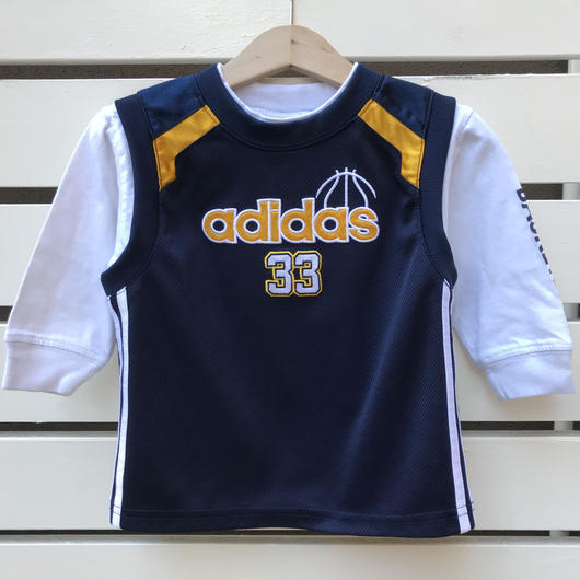 "【USED】""adidas"" basketball  top"