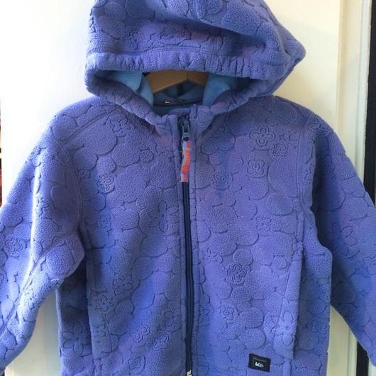 【USED】Purple Fleece Hoodie